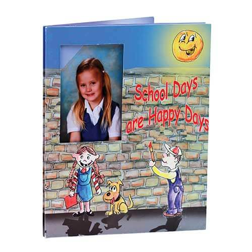 School Days Are Happy Days Photo Folders